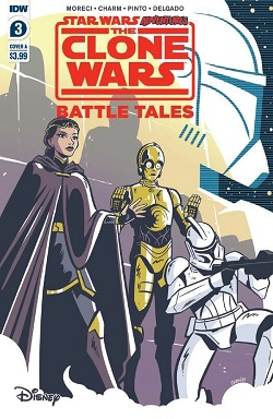Clone Wars – Battle Tales #3 - Cover