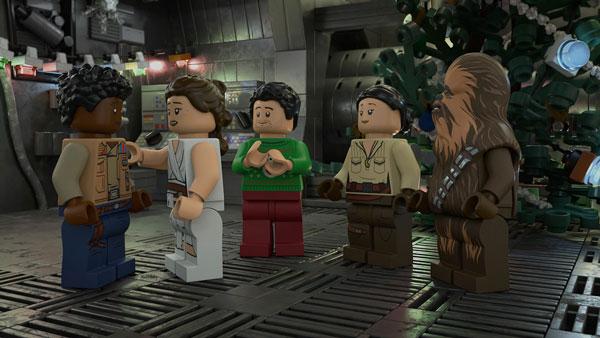 Eine Szene aus dem <em>LEGO Star Wars Holiday Special</em>