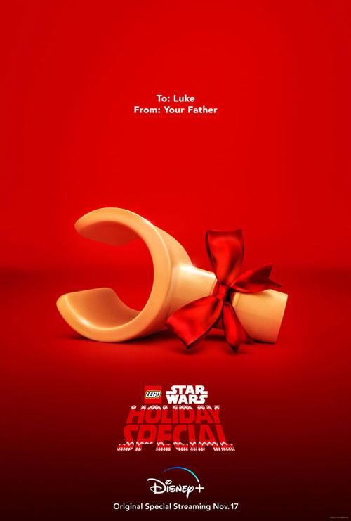 Das Poster zum LEGO Star Wars Holiday Special