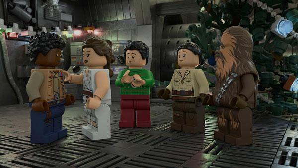 Eine Szene aus dem LEGO Star Wars Holiday Special