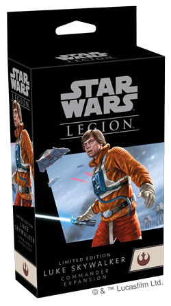 Star Wars: Legion - Limitierte Luke Skywalker Commander-Erweiterung