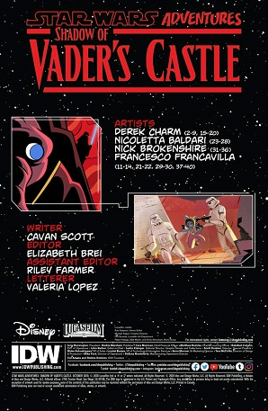 Shadow of Vader's Castle