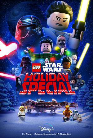2. Plakat zum Lego Star Wars Holiday Special