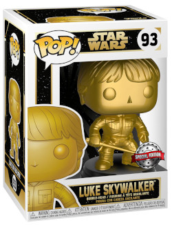 Luke Skywalker (Gold Metallic)