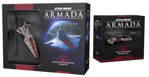 Star Wars Armada: Pelta Fregatte und Venator Kreuzer Erweiterung
