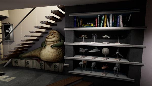Star Wars Pinball VR: Lebensgroßer Jabba