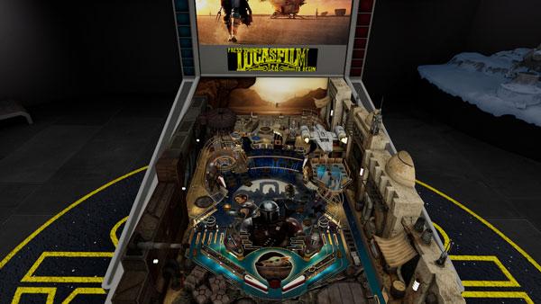 Star Wars Pinball VR: The Mandalorian Tisch