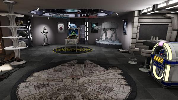 Star Wars Pinball VR: Der Sammelraum