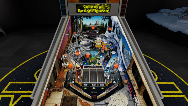 Star Wars Pinball VR: Classic Collectibles Tisch
