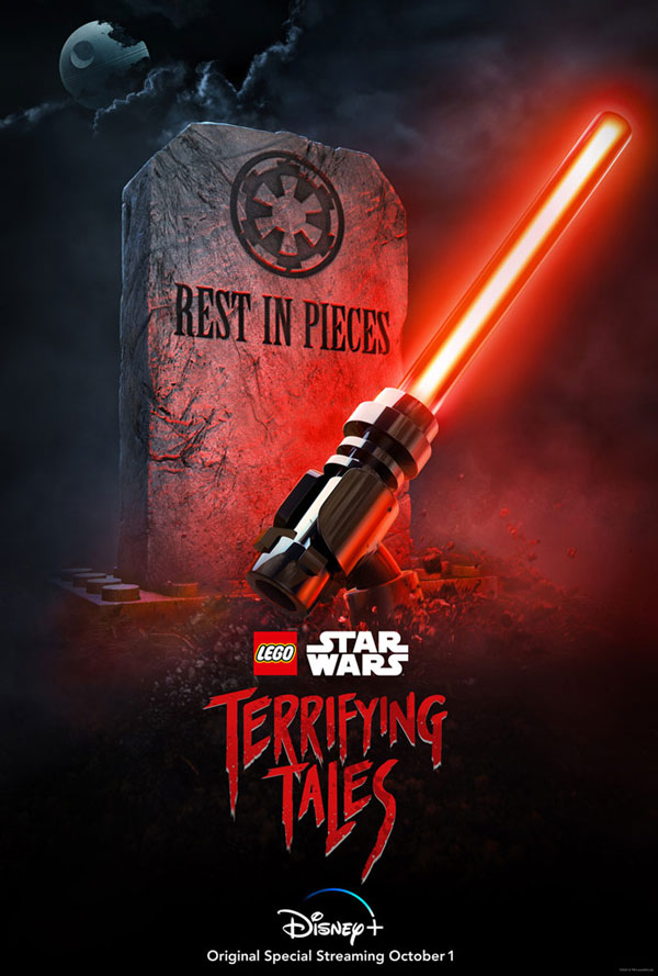 Lego Star Wars Terrifying Tales - Poster