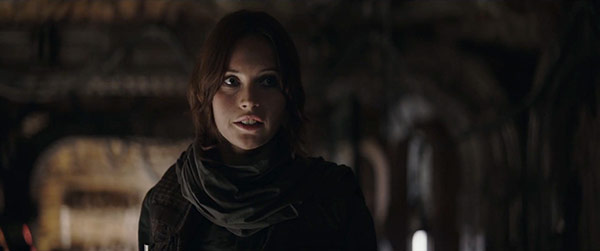 Jyn Erso in Rogue One