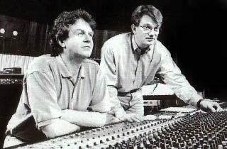 Die Macher des Radio-Drama: John Madden und Tom Voegeli