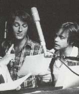 Perry King und Mark Hamill im Studio