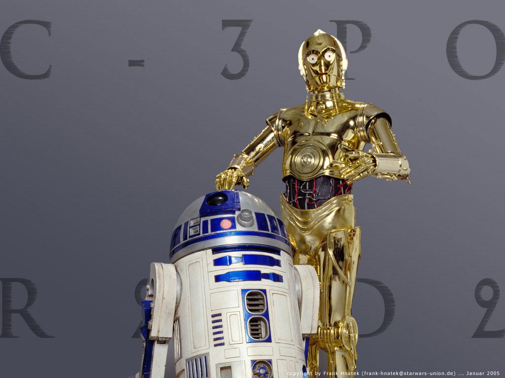 R2d2 And C3po Wallpaper Wallpaper  C-3PO und R2-D2